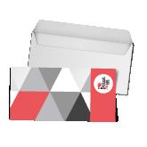 Carte sous enveloppe petit format