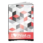 Brochure piquée avec couverture à la Française