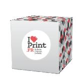 Cube carton PLV