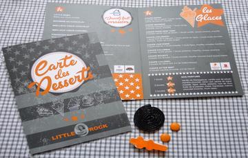 Carte dessert Little rock