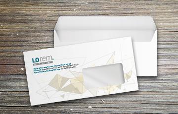 enveloppe petit format avec bande de protection