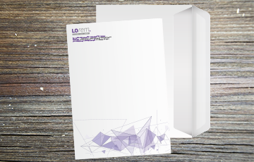 Enveloppe pleine mecanisable imprimée