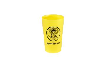 Gobelet écologique couleur jaune