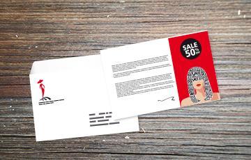 impression carte mise sous enveloppe personnalisée