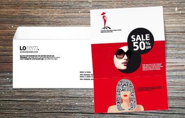 impression lettre et personnalisation enveloppe petit format