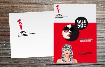 imprime sans adresse ISA grand format