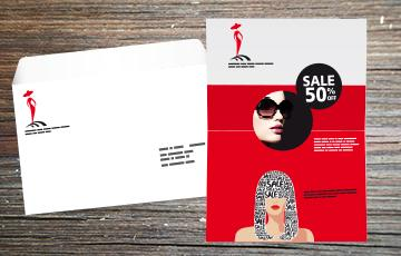 lettre sous enveloppe personnalisée en grand format