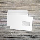 Enveloppe 149x229-mm vierge mécanisable