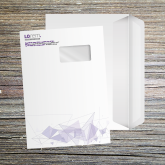 Enveloppe 229x324 mm mecanisable imprimée