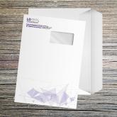 Enveloppe grand format avec bande de protection