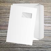 Enveloppe grand format avec bande de protection vierge
