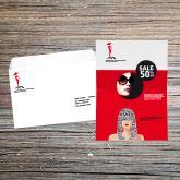 lettre sous enveloppe personnalisee moyen format